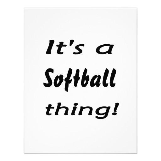 C'est une chose du base-ball ! invitations personnalisables