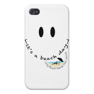 C'est une île de toute la journée de plage de coque iPhone 4 et 4S