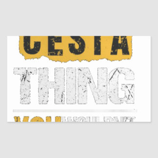 Cesta tshirts sticker