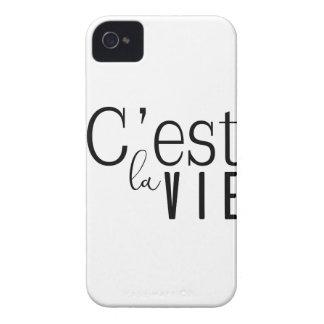 cestlavie C'est la Vie iPhone 4 Case-Mate Cases