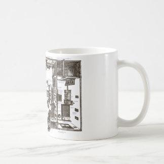 Cet appartement victorien célèbre annoté mug blanc