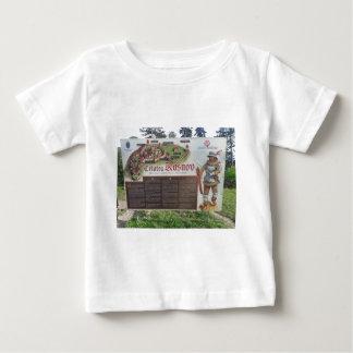 Cetatea Rasnov, Romania. Historic fortress map. Baby T-Shirt