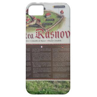 Cetatea Rasnov, Romania. Historic fortress map. iPhone 5 Case