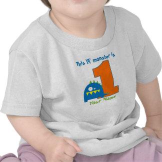 Cette chemise d'anniversaire de monstre de Lil pre T-shirt