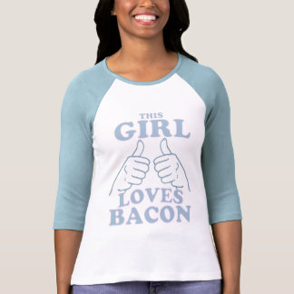 Cette FILLE aime le lard T-shirts