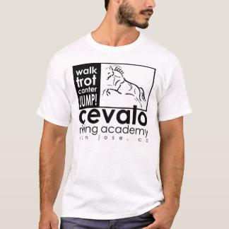 Cevalo Shirt: Walk, Trot, Canter, JUMP! T-Shirt