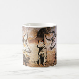 Cevaux Cave Cattle Dog Classic White Coffee Mug