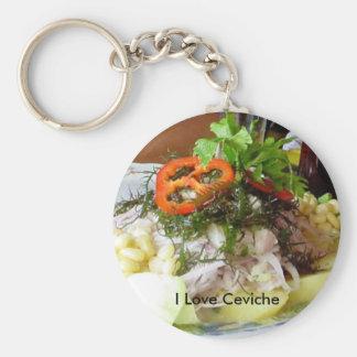 Ceviche Keychain