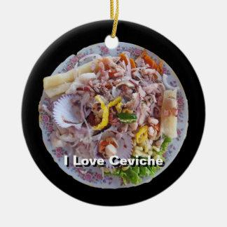 Ceviche - Pride of Peru Ceramic Ornament