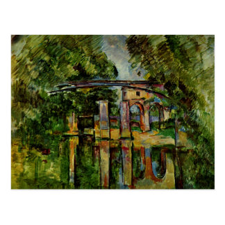 Cezanne - Aqueduct and Lock Postcard