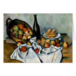 Cezanne - Basket of Apples Card