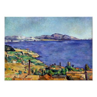 Cezanne Gulf of Marseilles Seen from L'Estaque Poster