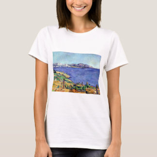 Cezanne Gulf of Marseilles Seen from L'Estaque T-Shirt