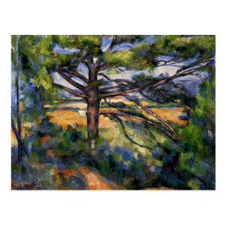 Cezanne - Large Pine and Red Earth Postcard