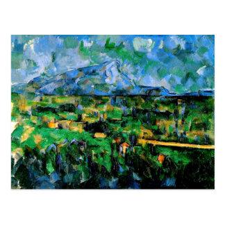 Cezanne - Mont Sainte Victoire Postcard