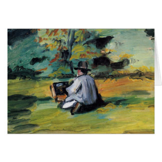 Cézanne: Painter at Work (blank inside) Card