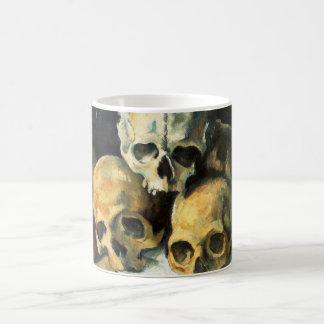 Cezanne Pyramid of Skulls Mug