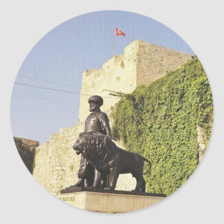 Cezayirli Gazi Hasan Pasha Classic Round Sticker