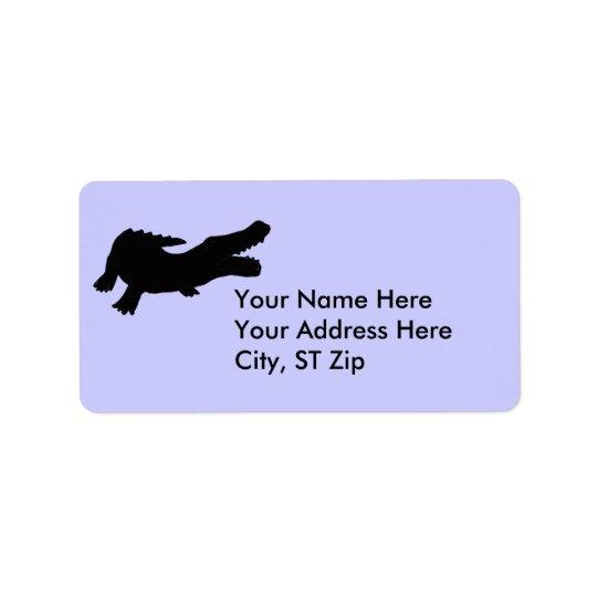 CF- Alligator Address Labels
