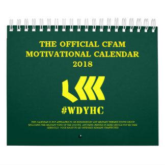CFAM Motivational Calendar 2018