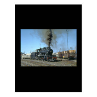 CFM No. 572 shunts the_Steam Trains Postcard
