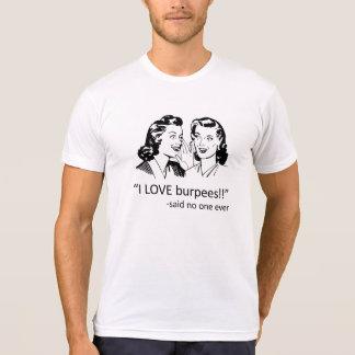 CFNTX Love Burpees - White T-Shirt