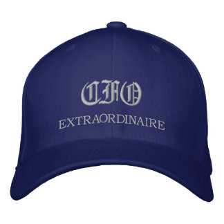 CFO Extraordinaire embroidered Cap Embroidered Baseball Caps