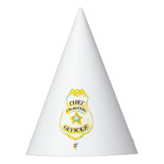 CFO Party Hat - Chief Financial Officer Hat