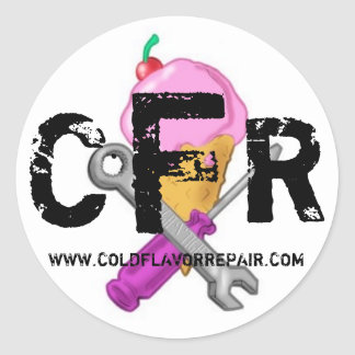 CFR LOGO STICKER 2008 - Customized