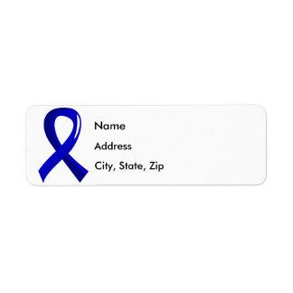 CFS Blue Ribbon 3 Return Address Label