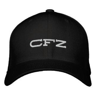 CFZ plain black hat