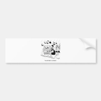 CGI Crtoon 2857 Bumper Sticker