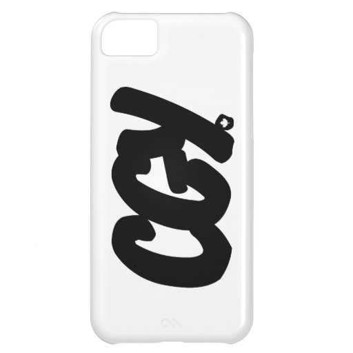CGY Letters Cover For iPhone 5C