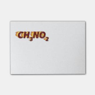 CH3NO2 - Nitro Post-it Notes