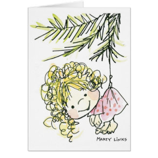 CH-006 Christmas Ornament Card