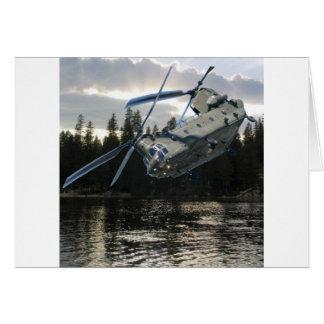 CH-47 CHINOOK GREETING CARD
