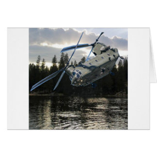 CH-47 CHINOOK GREETING CARD