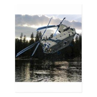 CH-47 CHINOOK POSTCARD