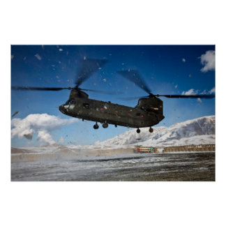 CH-47 Chinook Poster
