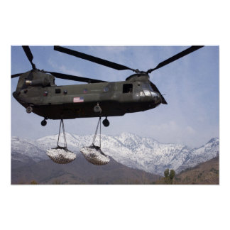 CH-47 IN PAKISTAN POSTER