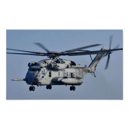 CH-53 Super Stallion assigned to the USS New York Posters