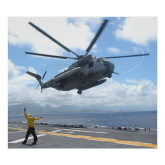 CH-53D Sea Stallion Poster