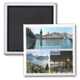 CH * Switzerland - Lucerne Magnet