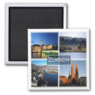 CH * Switzerland - Zurich Magnet
