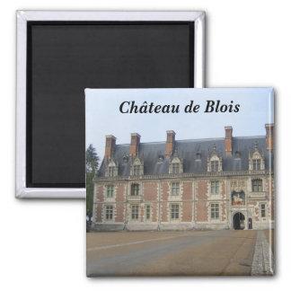 Ch�teau of Blois - Square Magnet