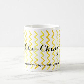 Cha-Ching | Custom Etsy Link Coffee Mug