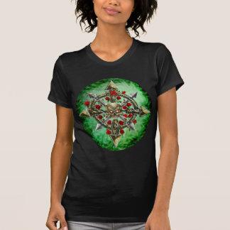 Cha-O-Star (GREEN BG) T-Shirt