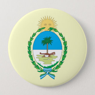 chaco, Argentina 4 Inch Round Button