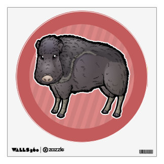 Chaco Peccary Wall Decal