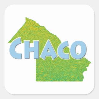 Chaco Square Sticker